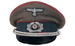 Scarce Georg Rothemund Nazi Artillery Officer's Visor Cap