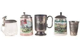 Five Nazi-Themed Drinking Vessels