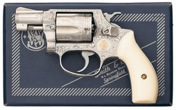 Cargnel Engraved Smith & Wesson Model 60 Double Action Revolver