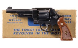 Smith & Wesson .44 Hand Ejector  Model Revolver with Box