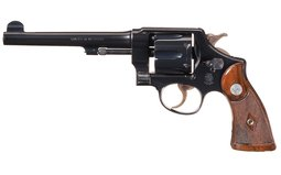 Smith & Wesson .44 Hand Ejector 2nd Model Double Action Revolver