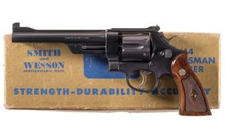 S&W .38/44 Outdoorsman Model of 1950 Revolver with Box