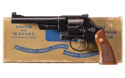 Smith & Wesson Pre-Model 27 Double Action Revolver with Box