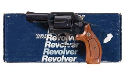 Smith & Wesson Model 547 Double Action Revolver with Letter