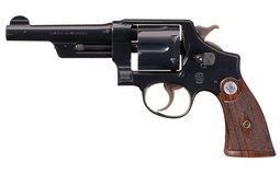 Smith & Wesson .38/44 Heavy Duty Revolver with Factory Letter