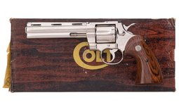 Colt Python Factory Sample Florida Fish & Game Special Edition