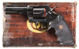 Colt Python Double Action Revolver Factory Show Gun