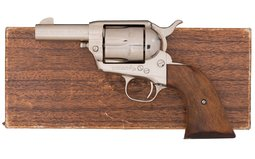 Nickel Colt Sheriff's Model 2nd Gen Colt Single Action Army