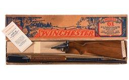 Winchester Model 61 Slide Action Rifle Pre-World War II