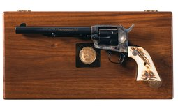 Cased Colt NRA Centennial Single Action Army Revolver