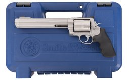 Smith & Wesson 500 Double Action Revolver with Case