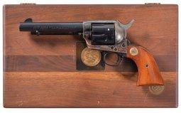 Colt NRA Centennial Single Action Army Revolver with Case