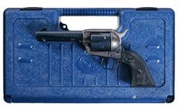 Colt Third Generation Single Action Army Revolver with Case