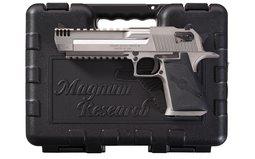 Magnum Research Desert Eagle Semi-Automatic Pistol with Case