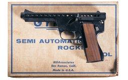 MBAssociates Mark II Model C Gyrojet Pistol with Box
