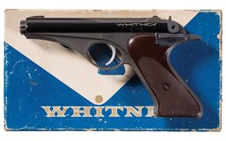 Whitney Firearms Inc. Wolverine Semi-Automatic Pistol with Box