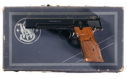 Smith & Wesson Model 41 Semi-Automatic Target Pistol with Box