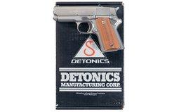 Detonics Combat Master Mark VI Semi-Automatic Pistol with Box