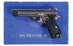 Sig Danish Contract P210-DK M/49 Semi-Automatic Pistol with Box