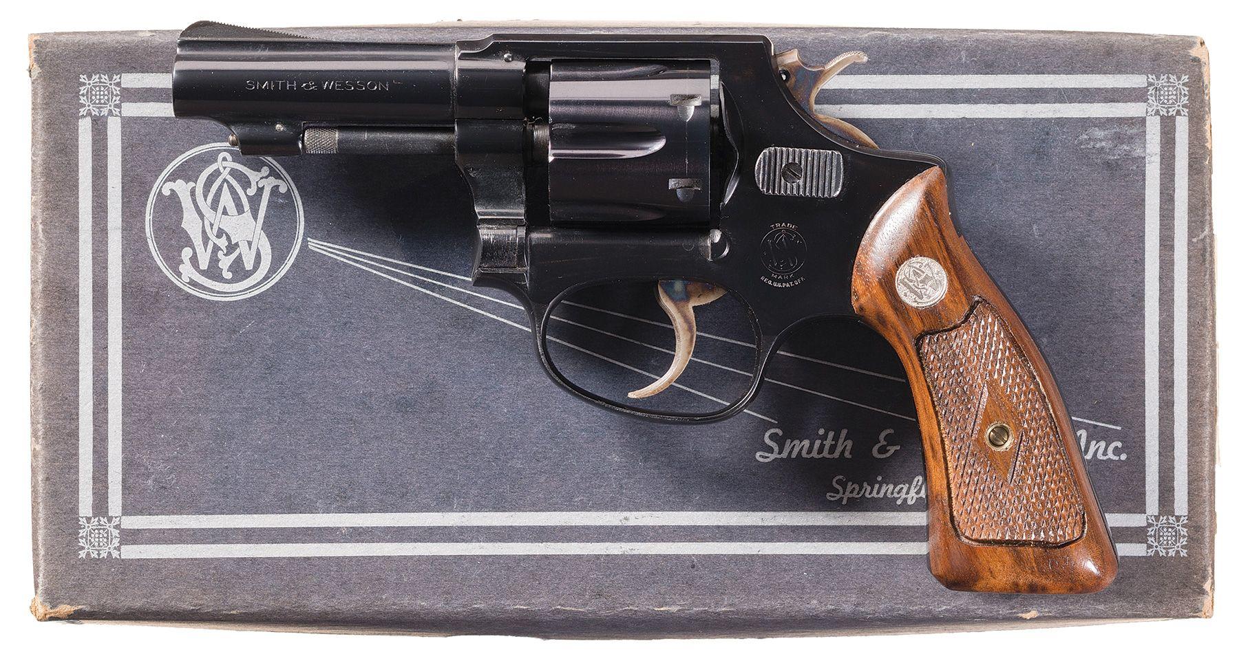 Smith & Wesson  32 Regulation Police (Post-War) Pre-Model 31