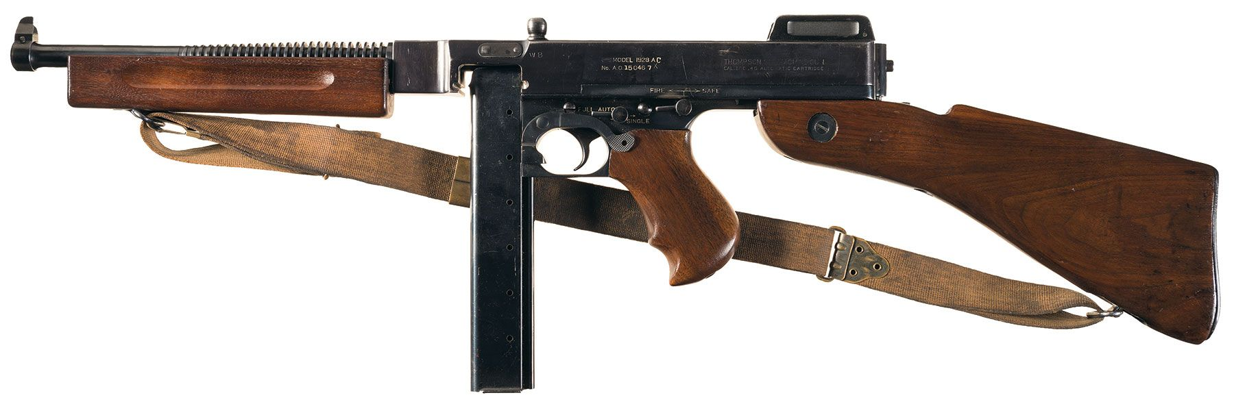 Class III/Fully Automatic M1928 Thompson SMG