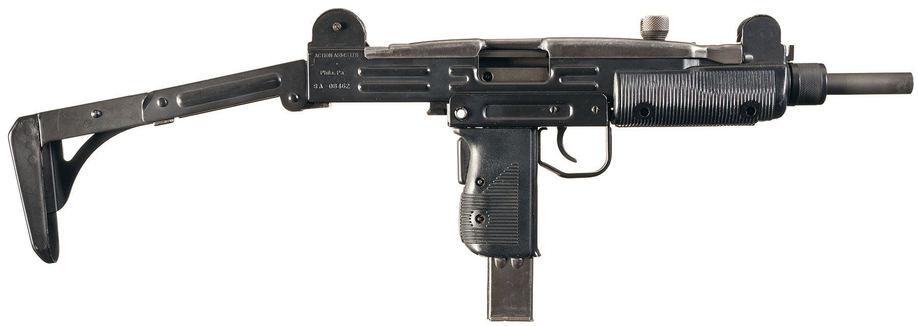 Group Industries Fully Transferrable Auto Bolt in a Model A UZI