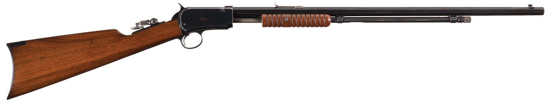 Winchester Model 1890 Takedown Slide Action Rifle in  22 Short