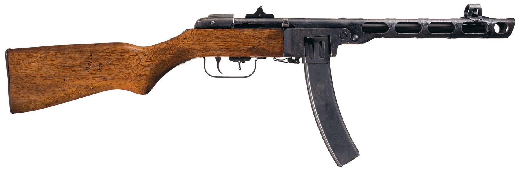 chinese type 50 submachine gun