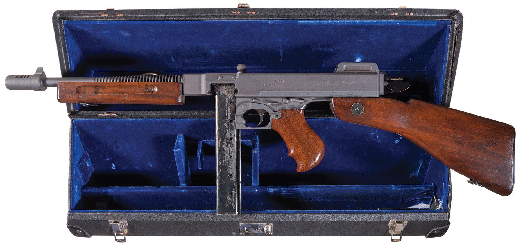 Savage/NAC Class III/NFA Model 1928 Thompson SMG