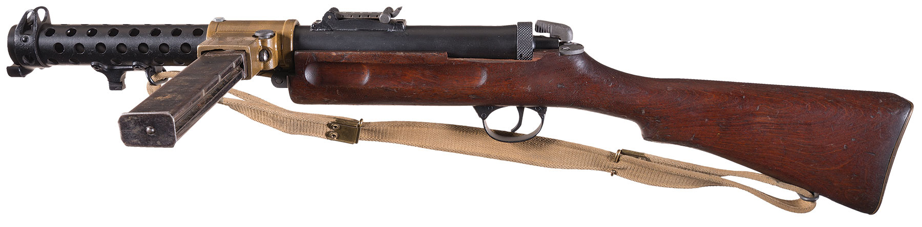 Wilson Arms Mark II SMG, Lanchester-Style, Fully Transferrable