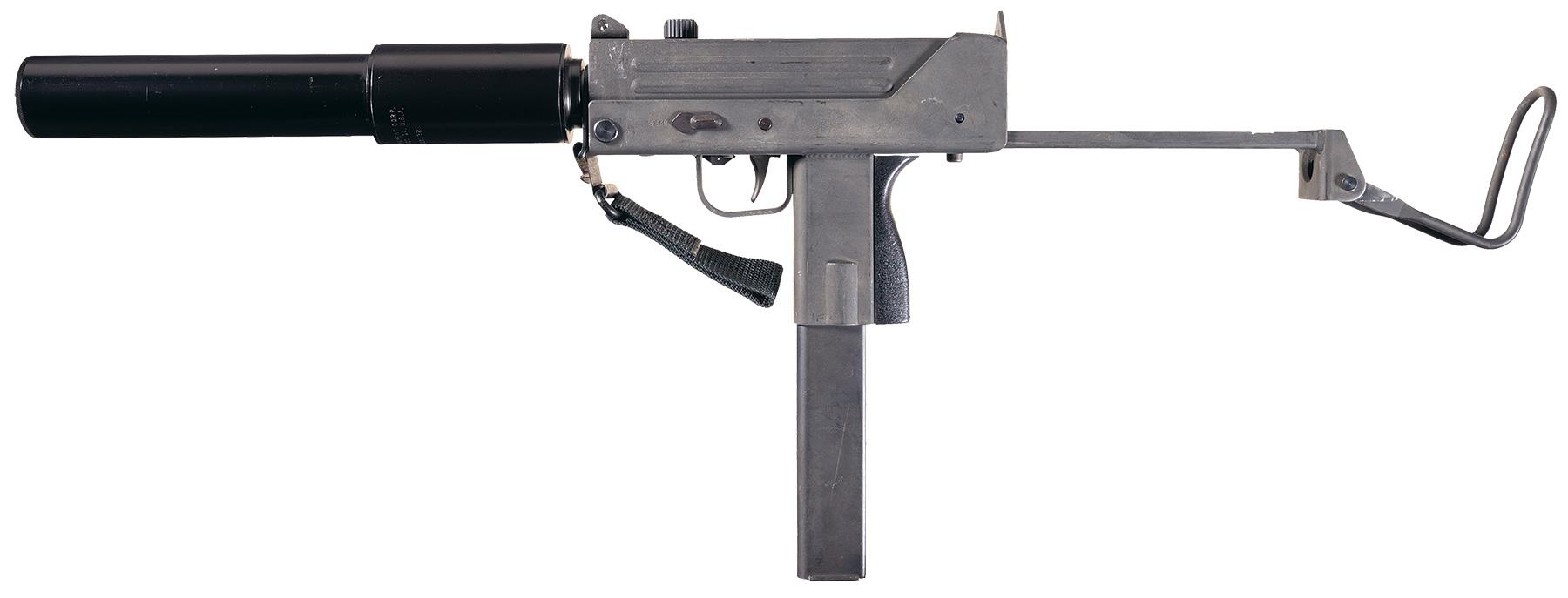 Military Armament Corp  Ingram M10 Sub-Machine Gun with MAC M10