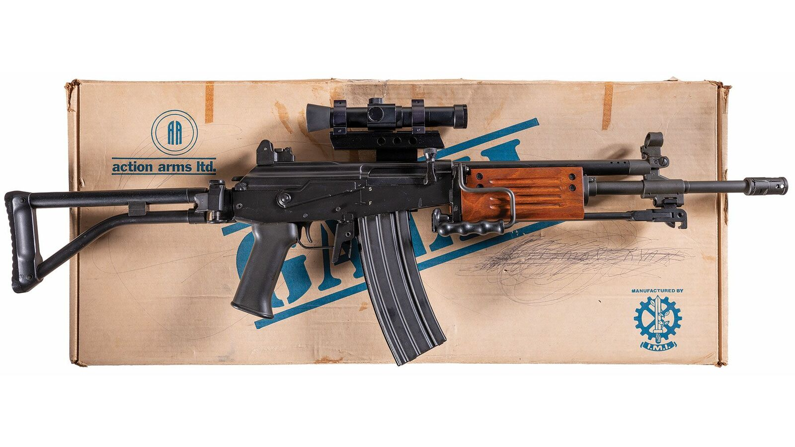Action Arms/I M I  Model 392 Galil Semi-Automatic Rifle