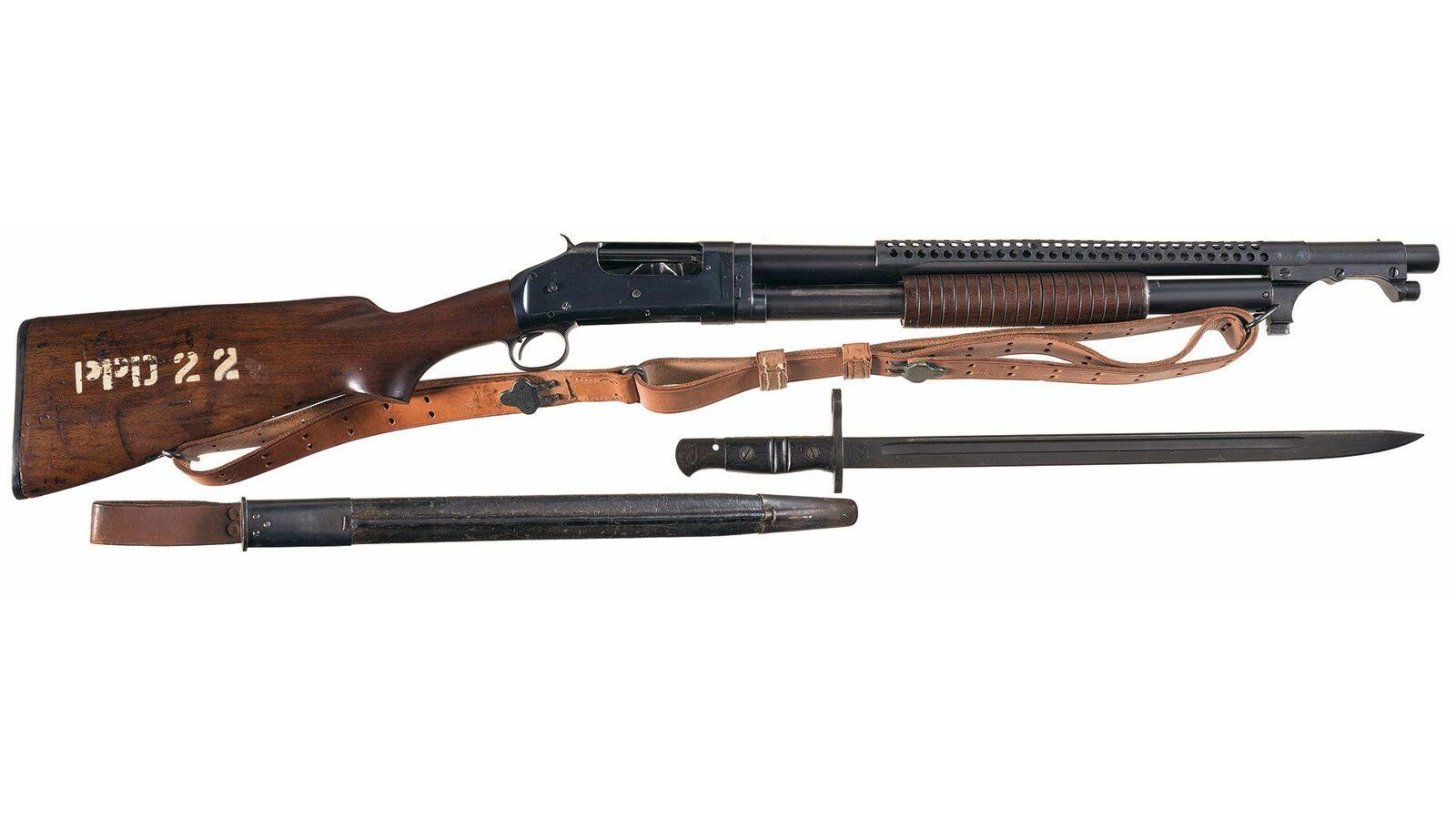 Winchester Model 97 Trench Gun U S  Marked