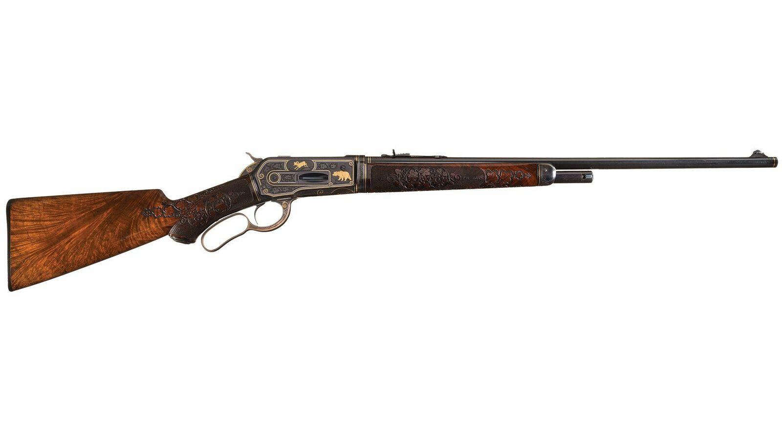 Winchester Model 1886 rifle John Ulrich