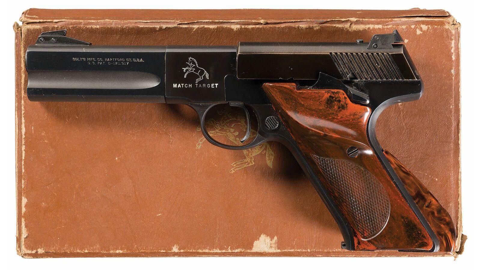 Colt Second Series Woodsman Match Target 22 Short Pistol, Box