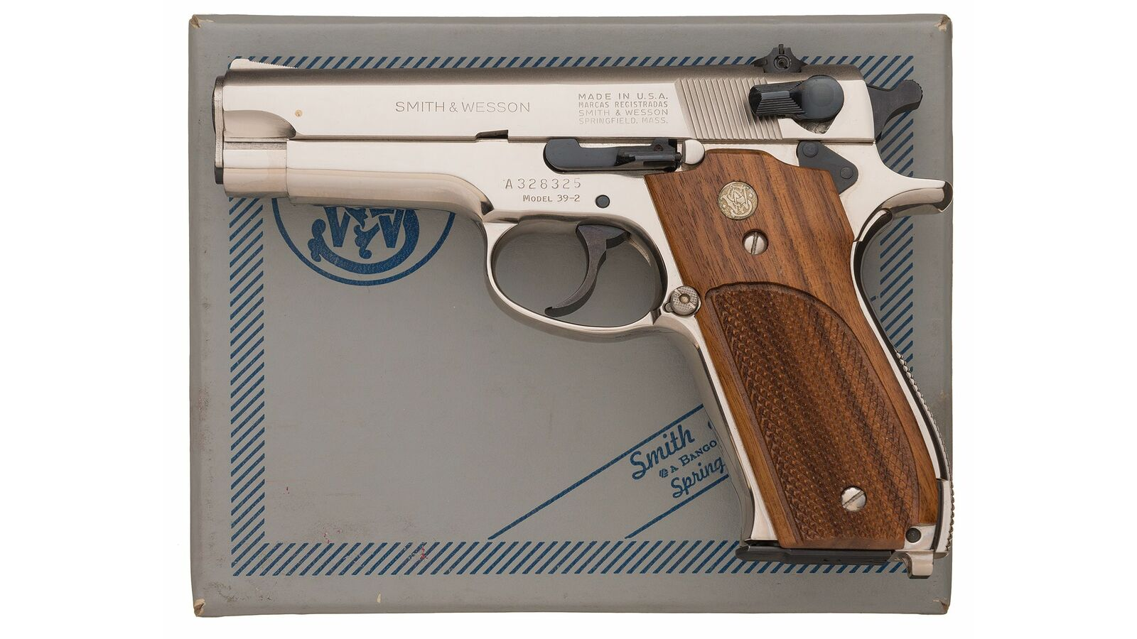 smith and wesson model 39-2 serial number search