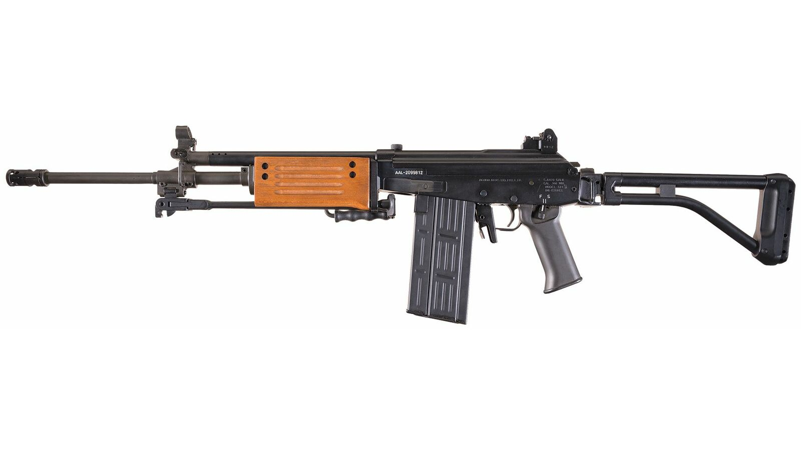 Action Arms/I M I Galil Model 323S Semi-Automatic Rifle with Box