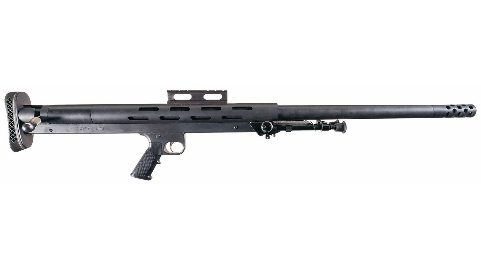 Lar Grizzly Big Boar Single Shot Bolt Action Rifle In 50 Bmg