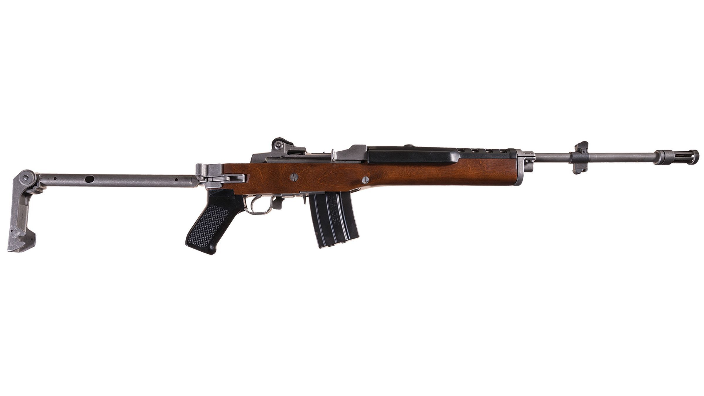Texas Ranger Issued Ruger Mini 14