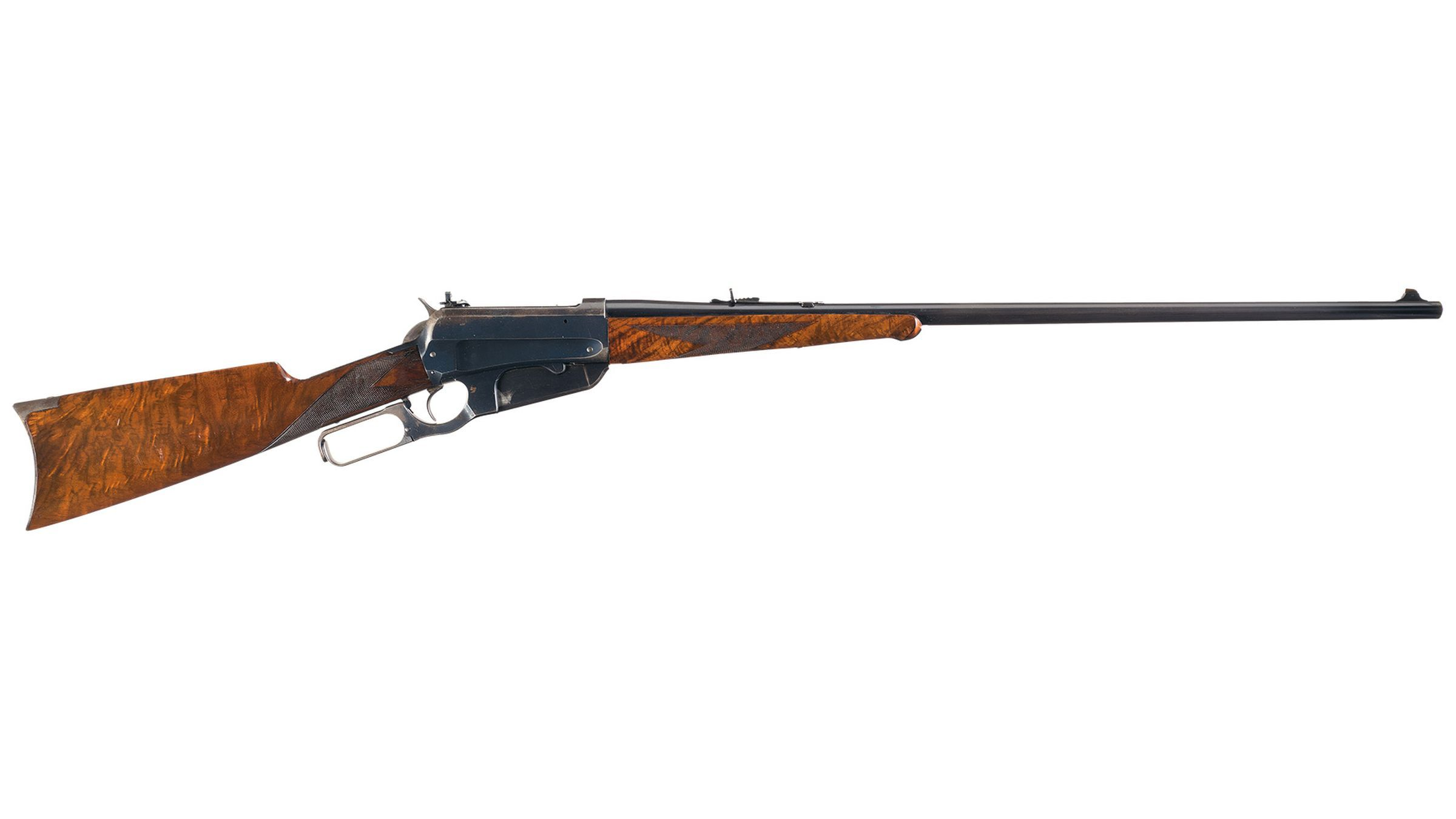 Winchester Deluxe Model 1895 Fancy Lever Action Rifle
