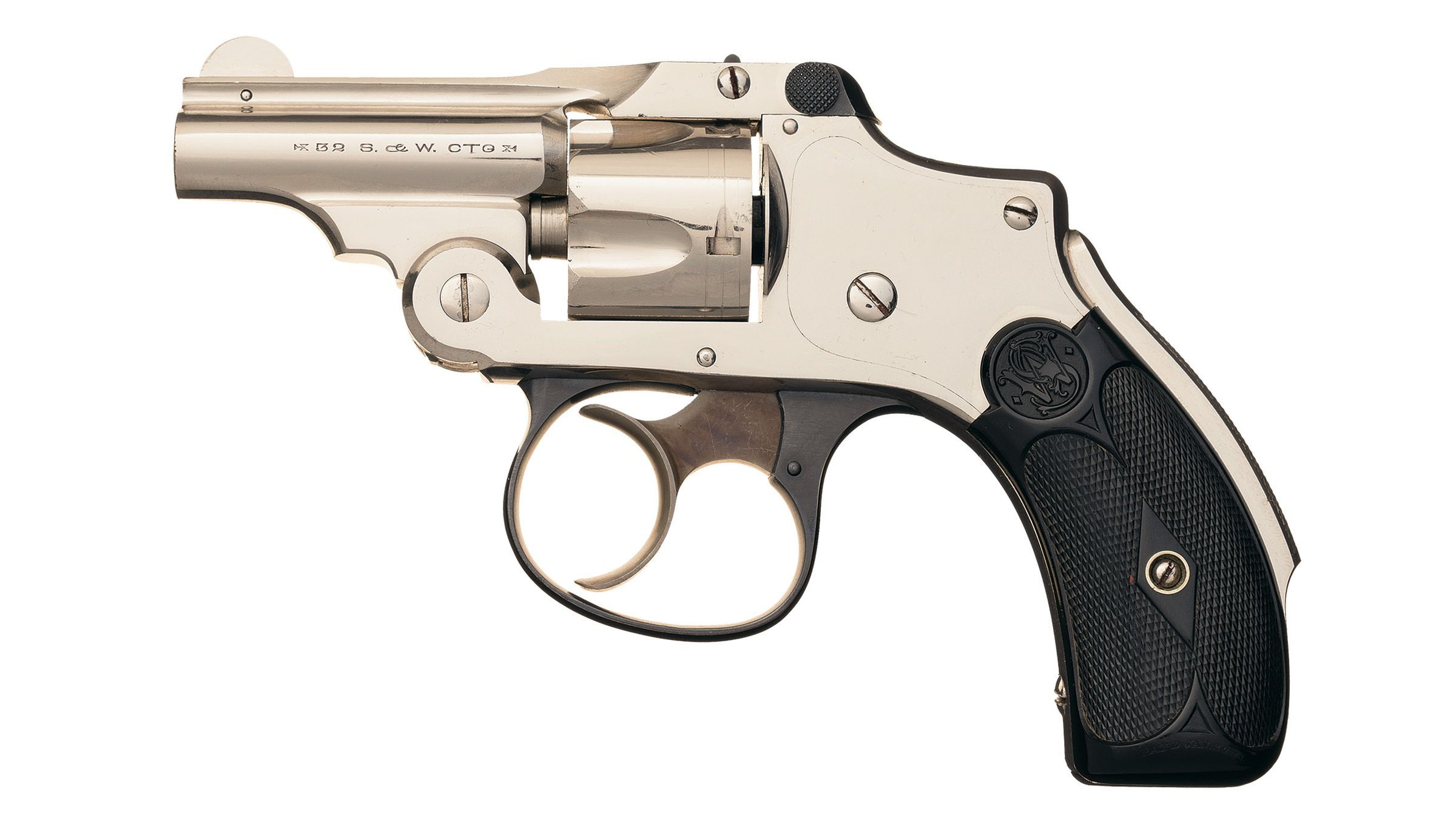 S&W 32 Safety Hammerless 'Bicycle' Revolver