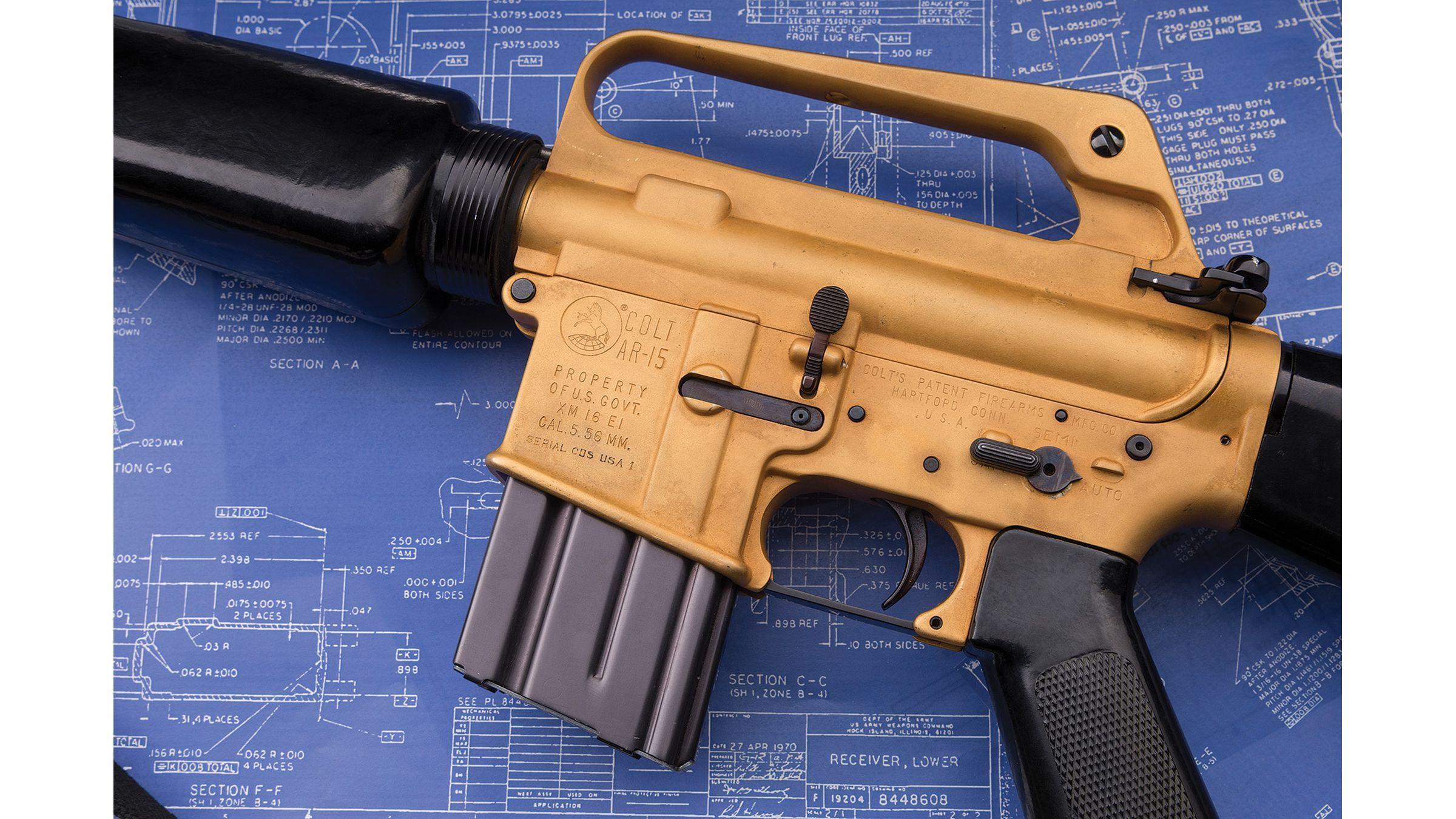Colt AR-15/XM16E1 Machine Gun - General Wheeler