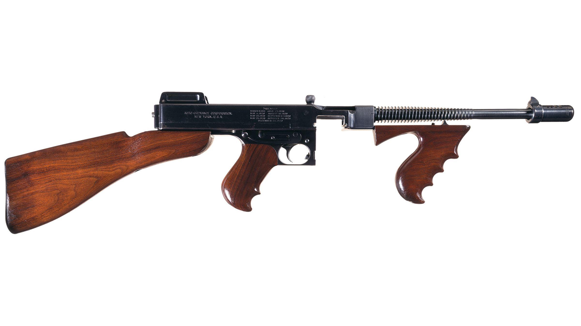 Colt/Auto-Ordnance Model 1928 Navy Thompson Submachine Gun