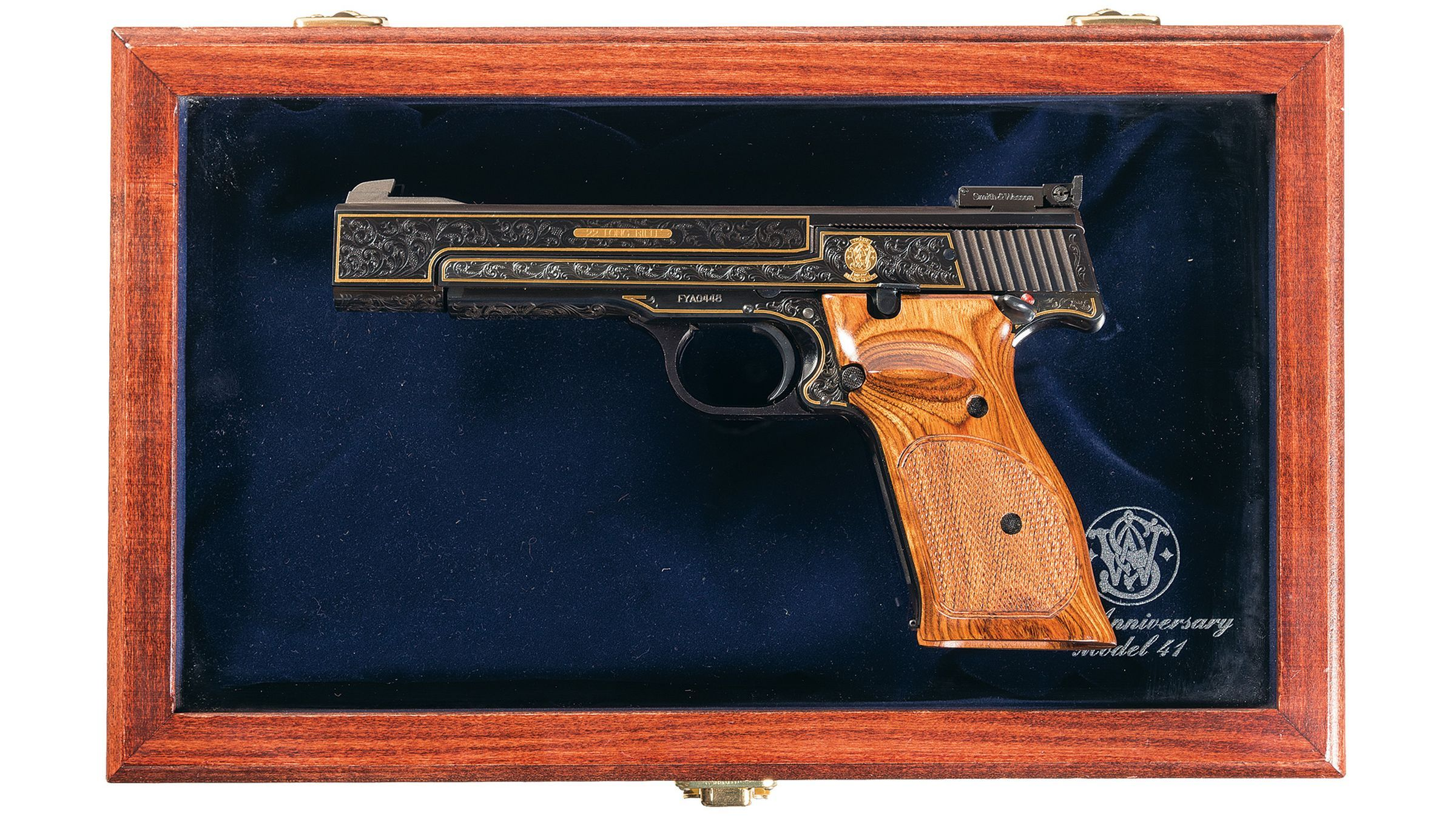 smith and wesson 41 serial number date