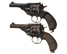 Two Webley MkIV Revolvers, 22 and 32 Caliber