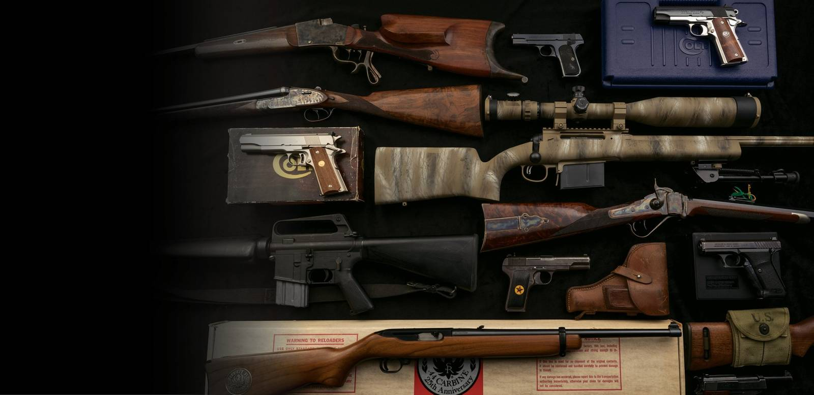 Arms & Accessories Day Firearms Auction