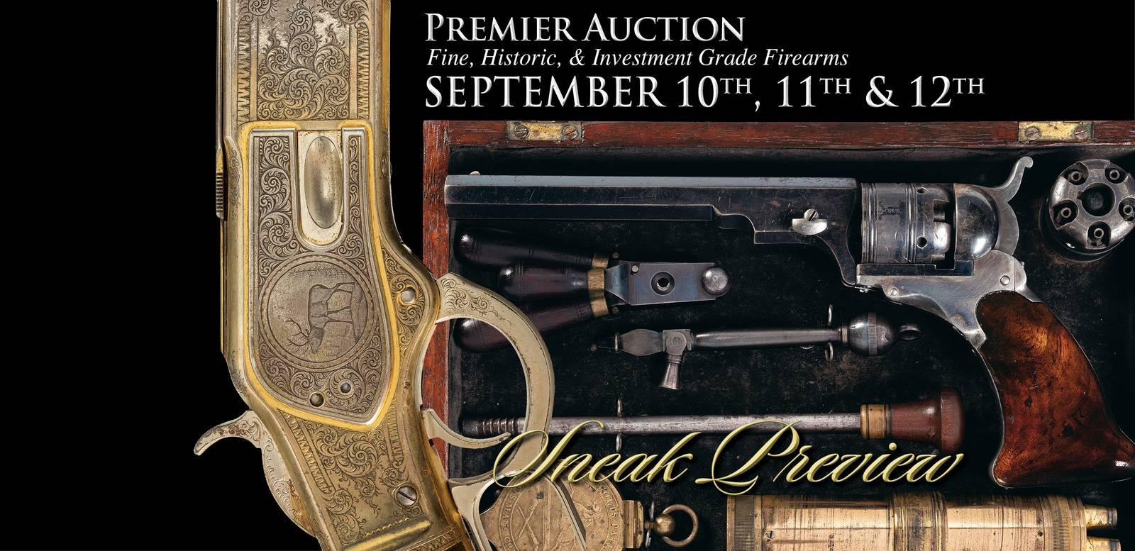 Premier Firearms Auction