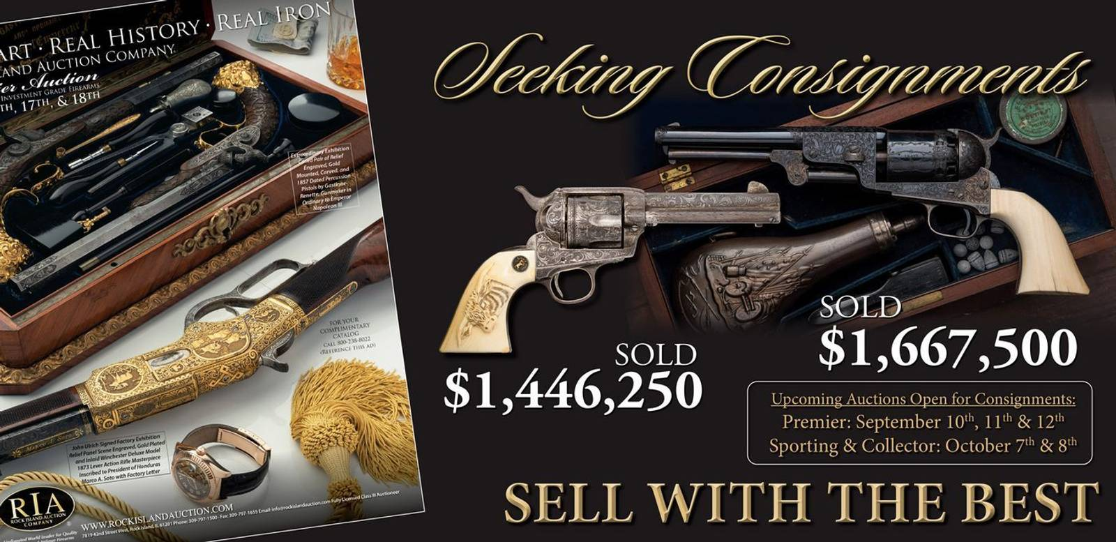 Now Inviting Consignments